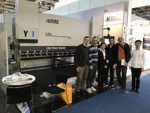 Accurl參加2016年德國展覽會