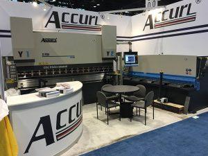 Accurl於2016年參加了芝加哥機床和工業自動化展覽會