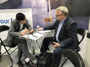 Accurl於2017年參加了德國漢諾威國際機床展覽會