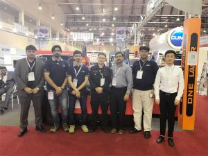 迪拜代表團參觀我們的展覽