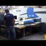高品質伺服cnc液壓轉塔沖床機械