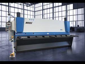 液壓剪切機MS8 8x4000mm採用德國ELGO P40T觸摸屏CNC