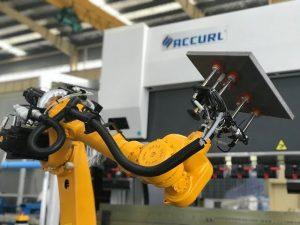金屬板材自動機械折彎機器人彎曲單元系統