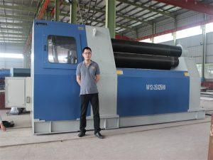 泰國客戶從Accurl公司購買W12軋機