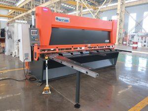 QC11y K-4X2500鈑金鋼液壓切斷機,適用於鐵鋁切割