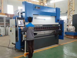 6軸cnc液壓折彎機用於鈑金件8000mm 1200TN