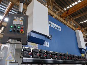 流行的液壓cnc折彎機,帶有estun E210控制系統WC67Y-125Ton / 3200mm,帶工程師服務