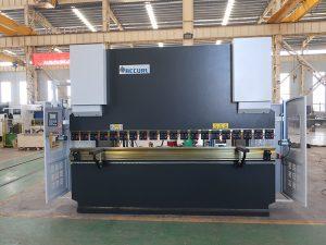 彎板機Wc67y 100t 3200 CNC不銹鋼液壓折彎機